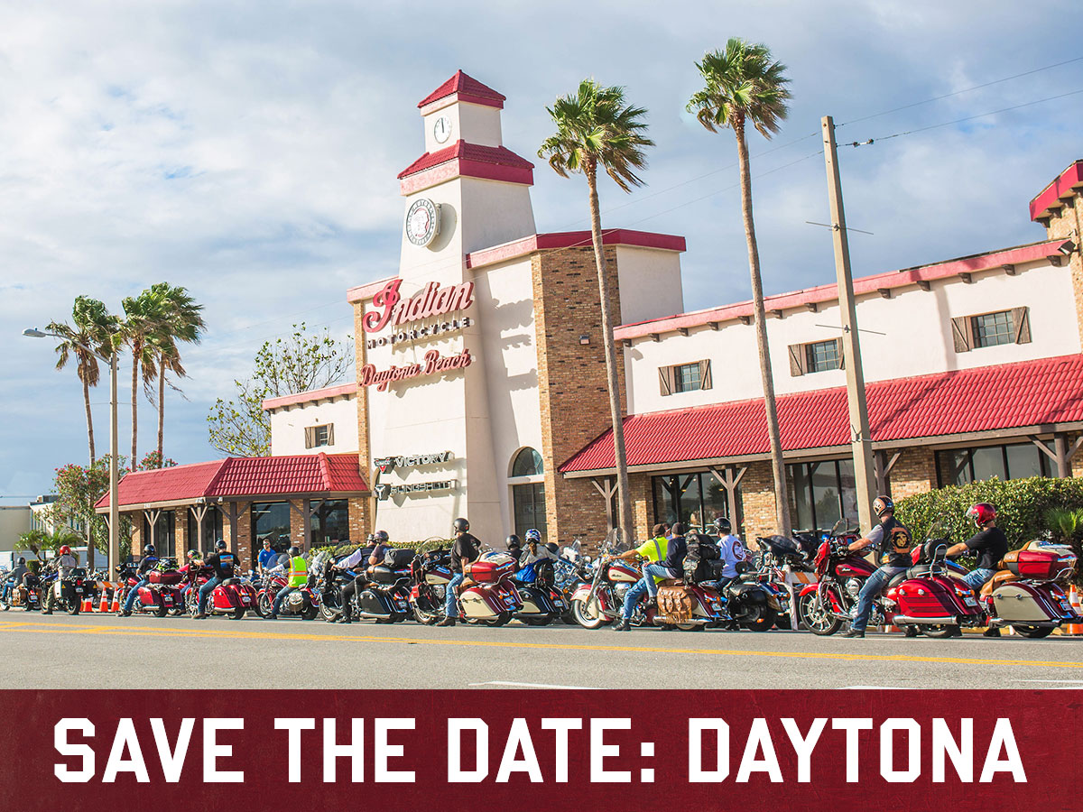 Save the date - Daytona