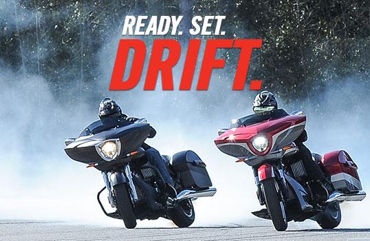 Ready. Set. Drift.