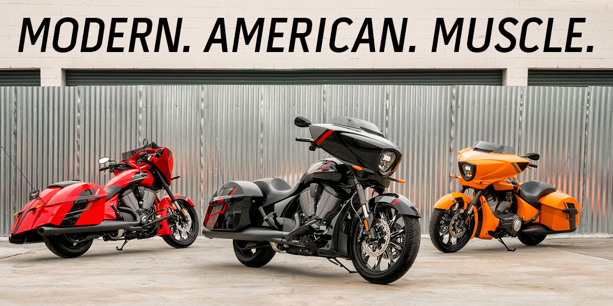 The 2017 Victory Motorcycles lineup